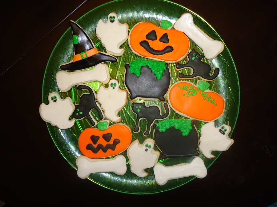 Halloween Cookies on Cake Central