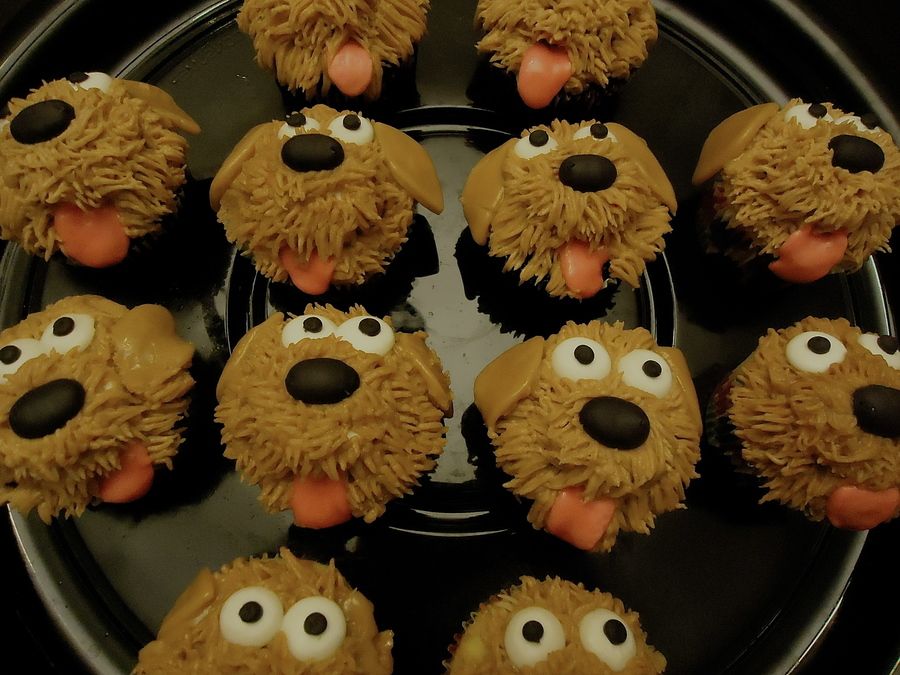 Puppy Cupcakes Cakecentral Com