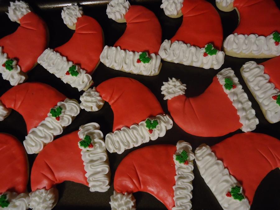 Santa Hat Cookies Cakecentral Com