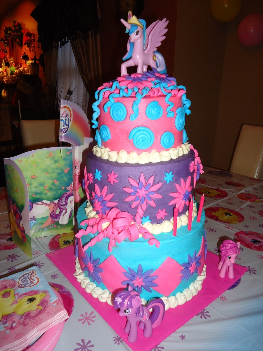 My Little Pony Cake CakeCentralcom