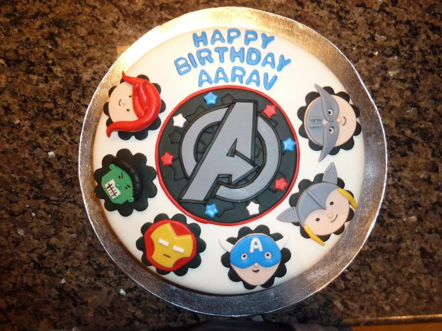 Swell Avengers Birthday Cake Cakecentral Com Personalised Birthday Cards Xaembasilily Jamesorg