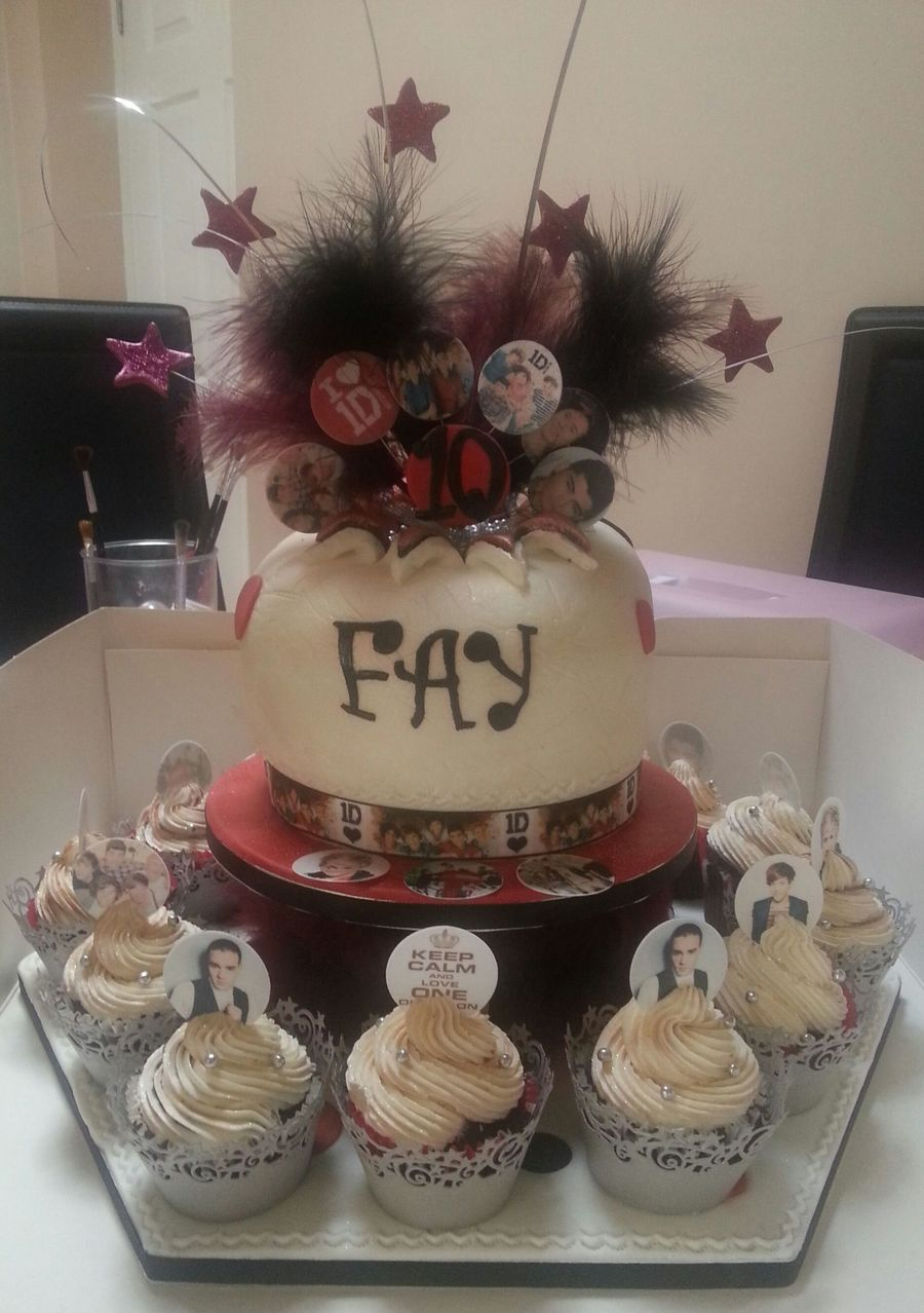 Explosion 1 Direction Cake And Cupcakes on Cake Central
