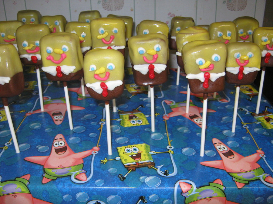Spongebob Cake Pops Recipe