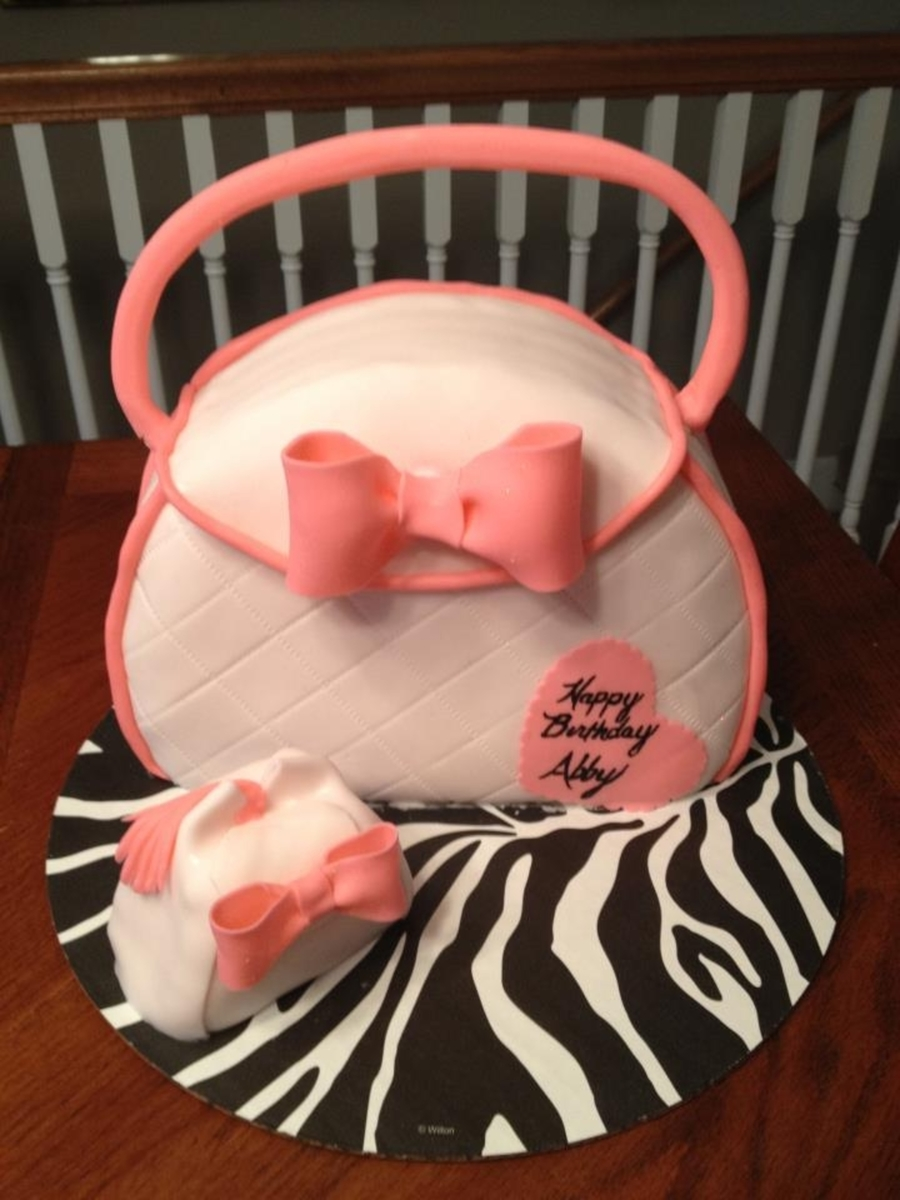 Pretty Purse Cake on Cake Central