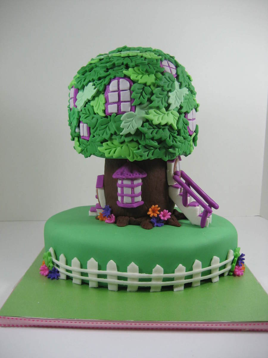 Berenstain Bears Treehouse Cakecentral Com