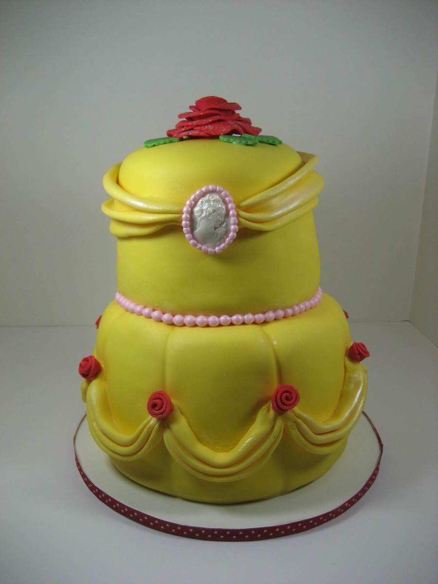 Princess Belle Cake Ideas