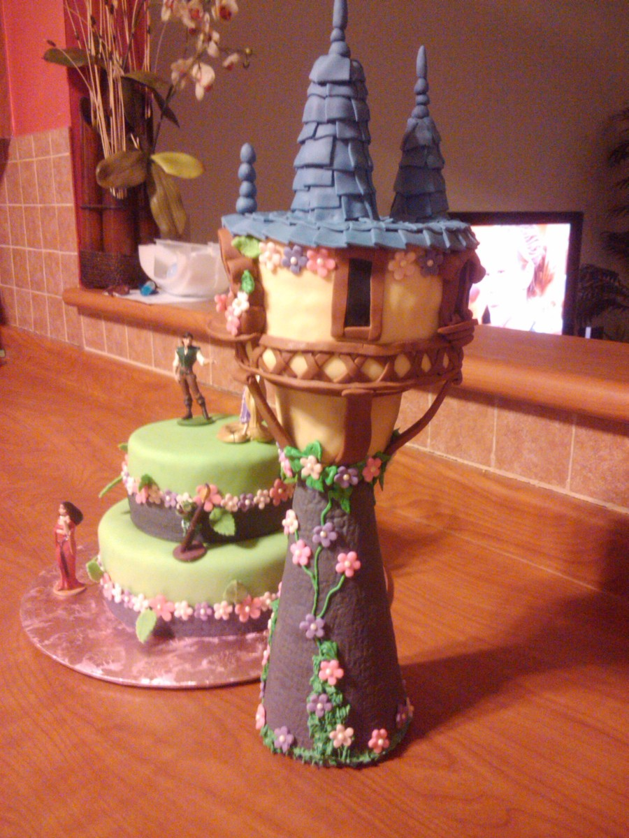 The Tangled Tower on Cake Central