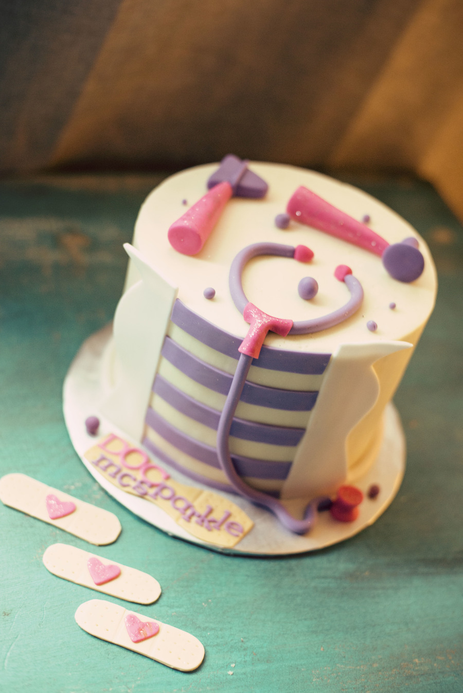Doctor Mcstuffins Birthday Cake CakeCentralcom