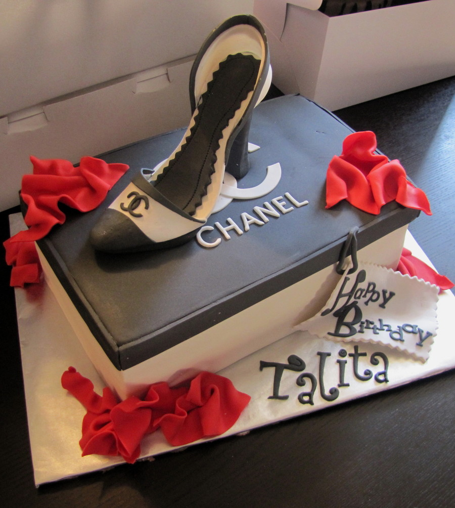 Chanel Shoe Cake! on Cake Central