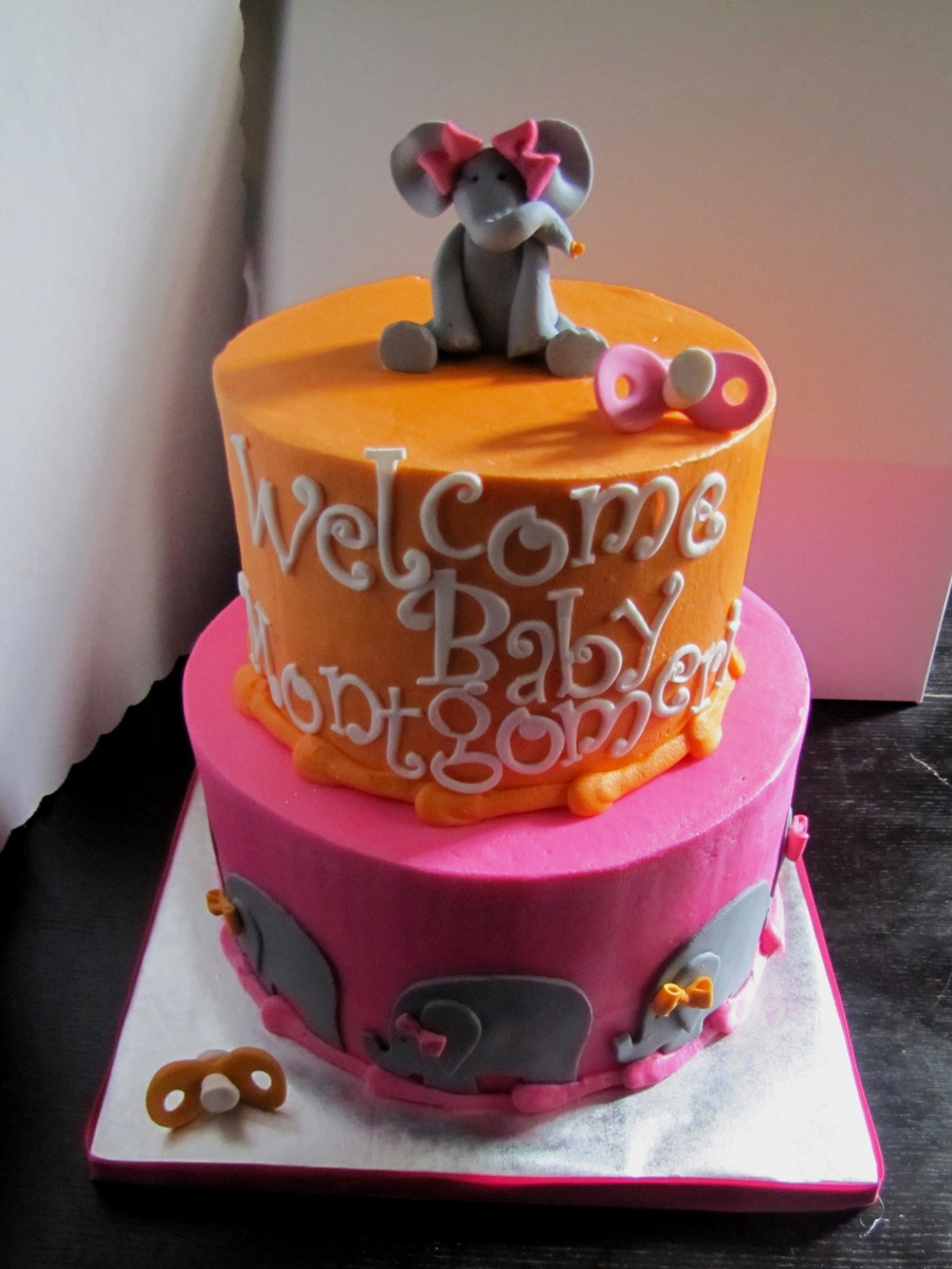 Elephant Baby Shower! on Cake Central