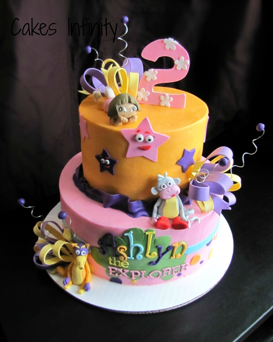 Dora Birthday Cake! on Cake Central