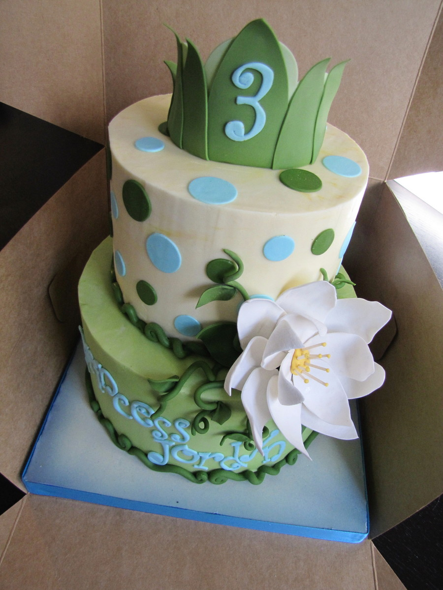 Princess And The Frog Cake! on Cake Central