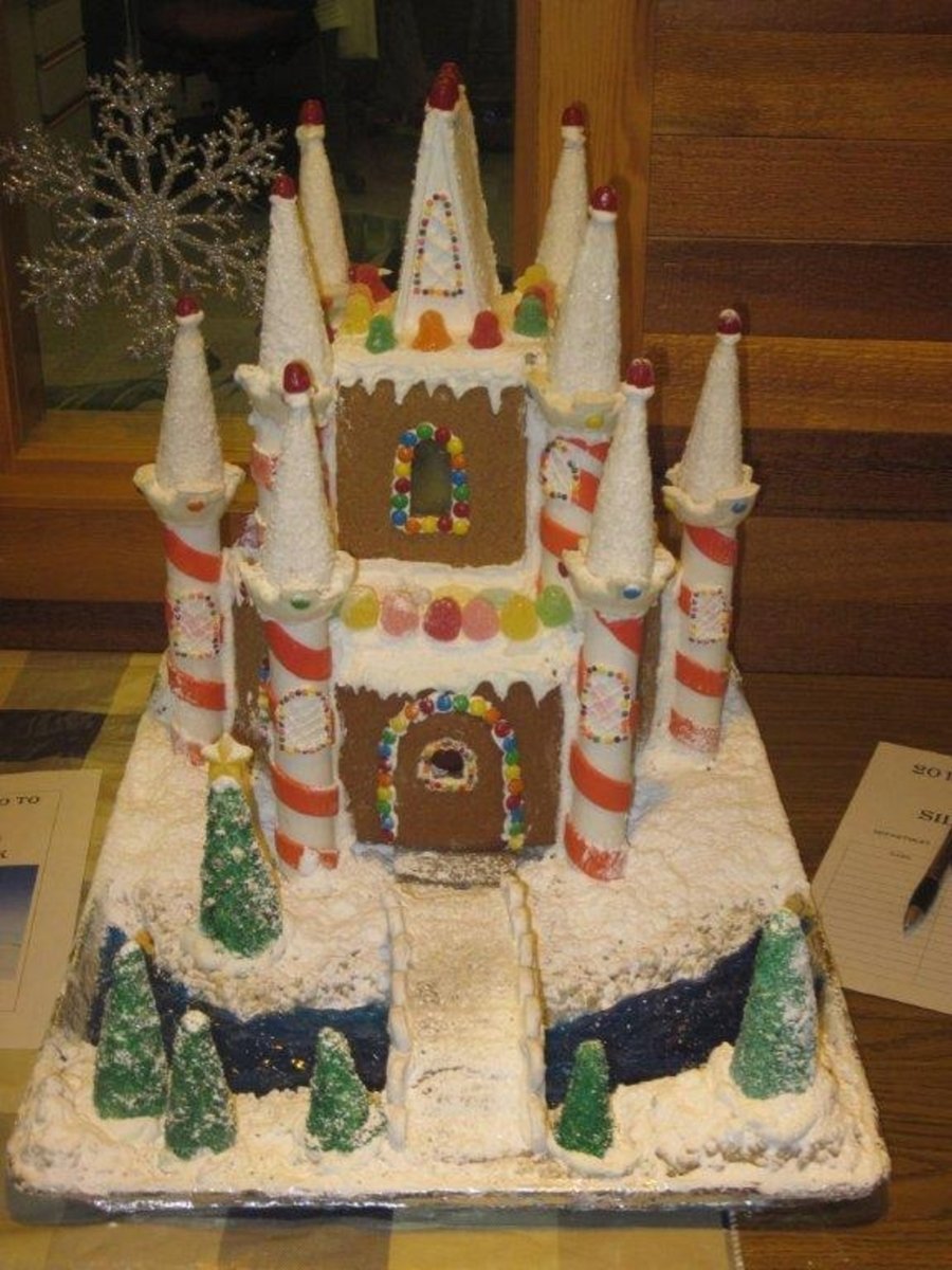 Gingerbread Castle on Cake Central