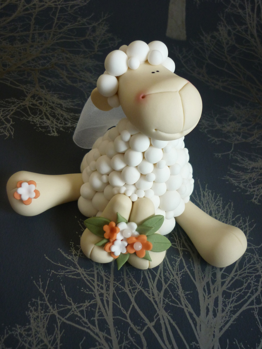 Sheep Wedding Cake Toppers Cakecentral Com