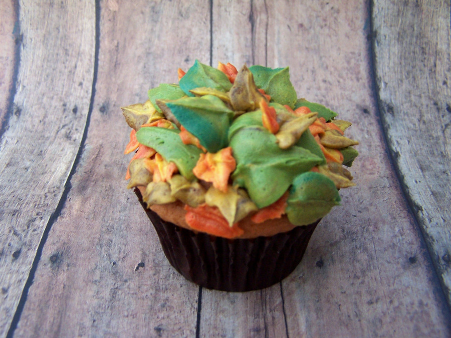 Autumn Leaves Cupcakes on Cake Central