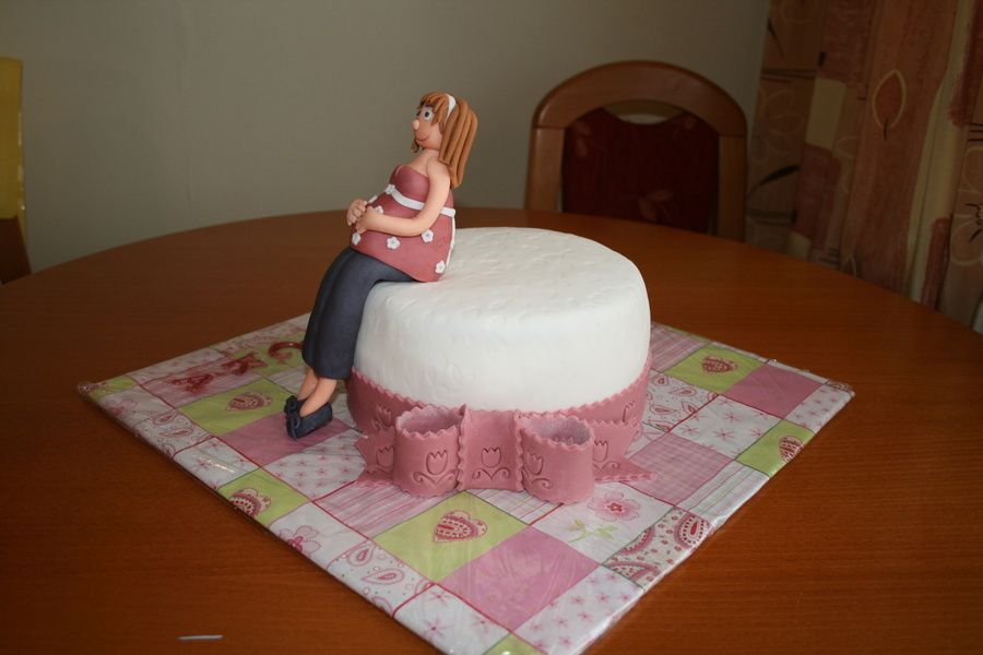 Birthday Cake For A Pregnant Women Cakecentral Com