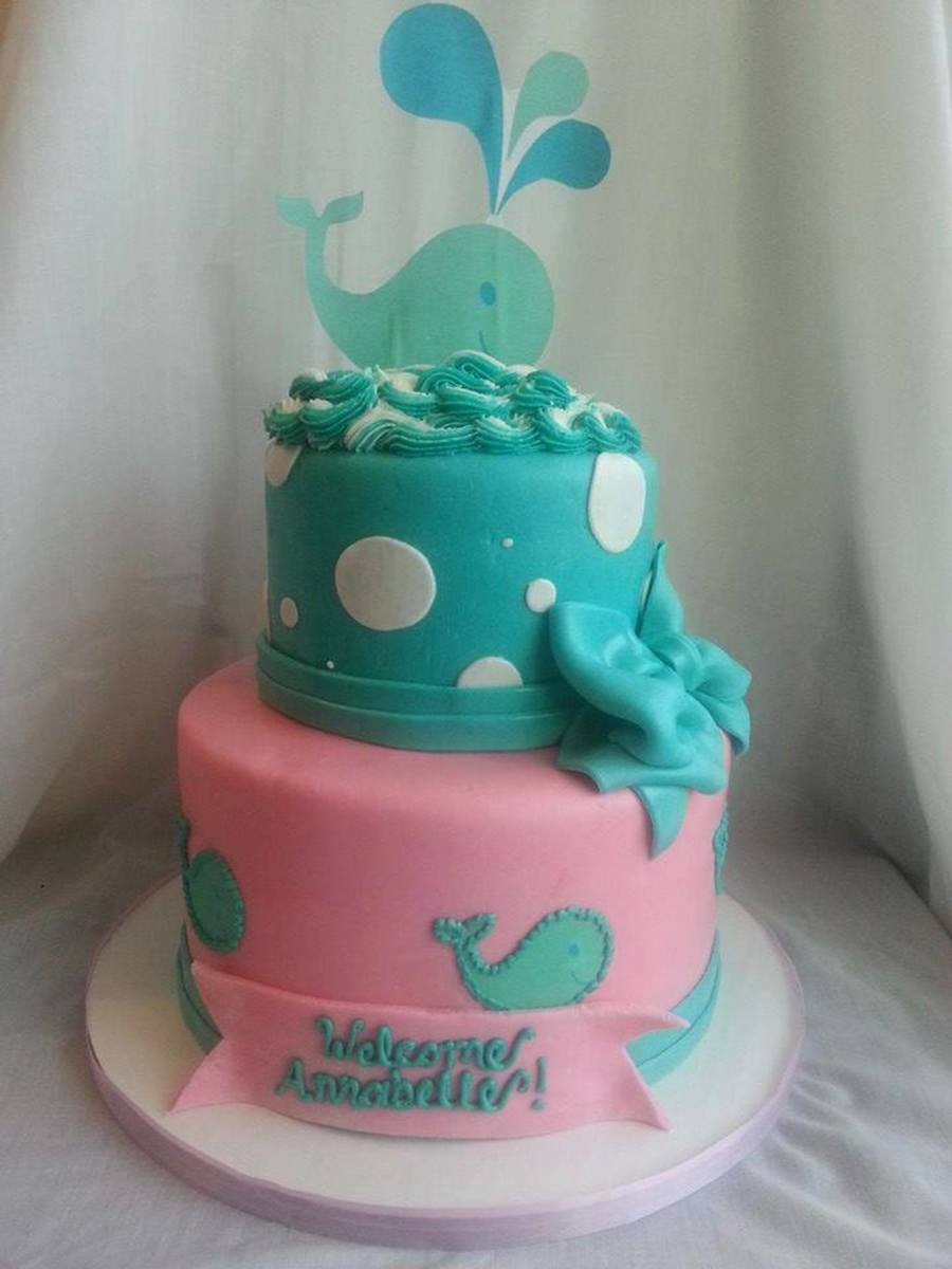 Whale Themed Baby Shower Cakecentral