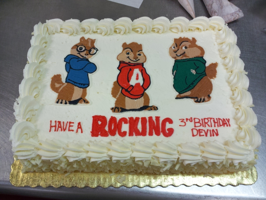 Alvin And The Chipmunks on Cake Central