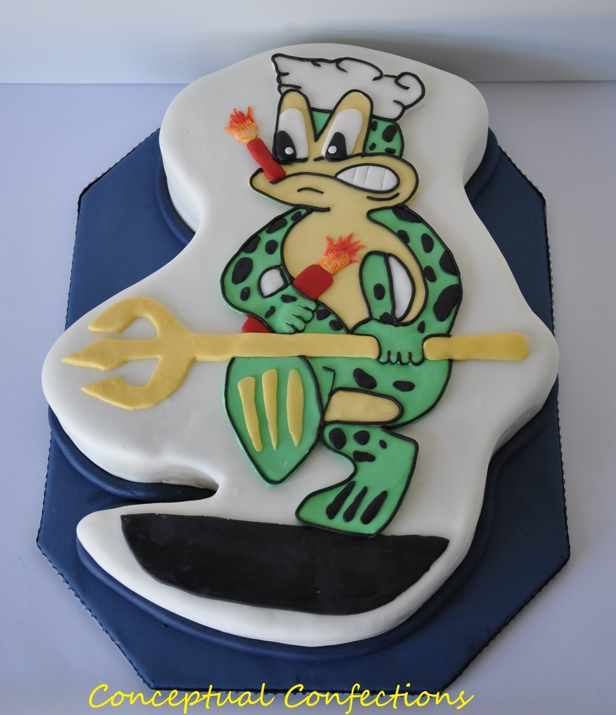 Freddie The Frog on Cake Central