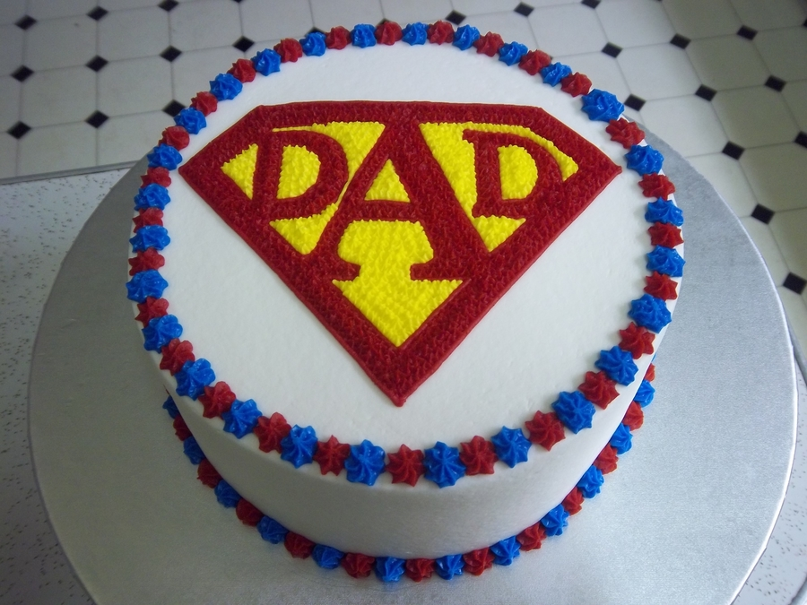 Superdad! on Cake Central