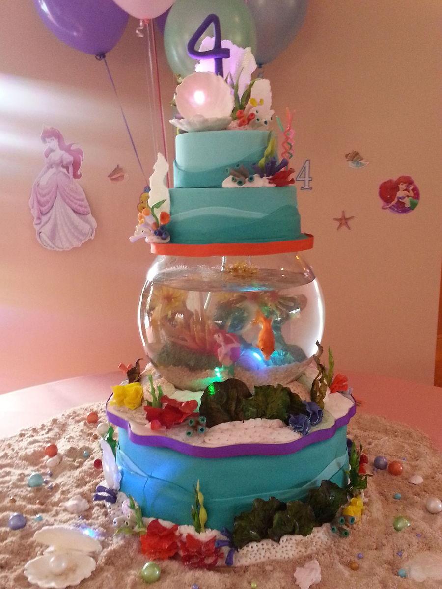 Under The Sea Princess Ariel Cakecentral Com