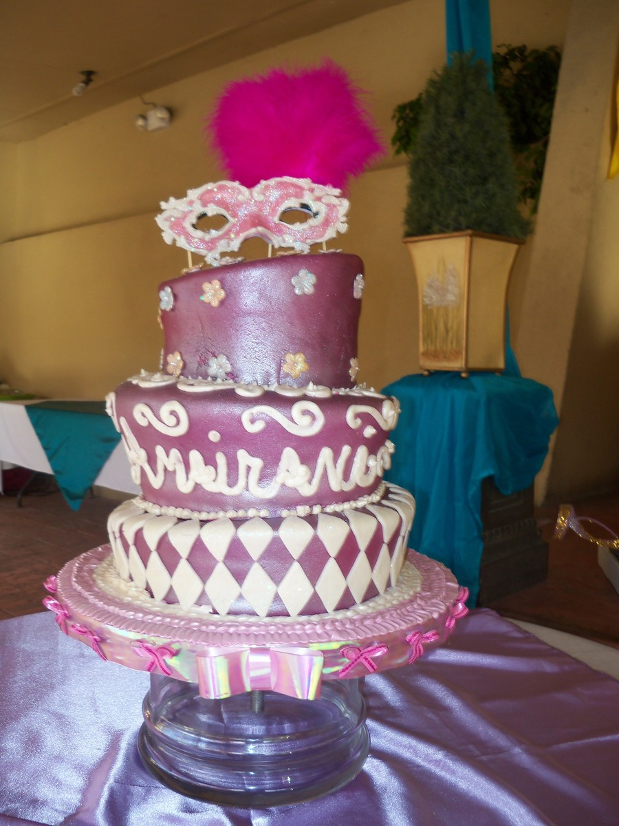 Quincenera Cake on Cake Central
