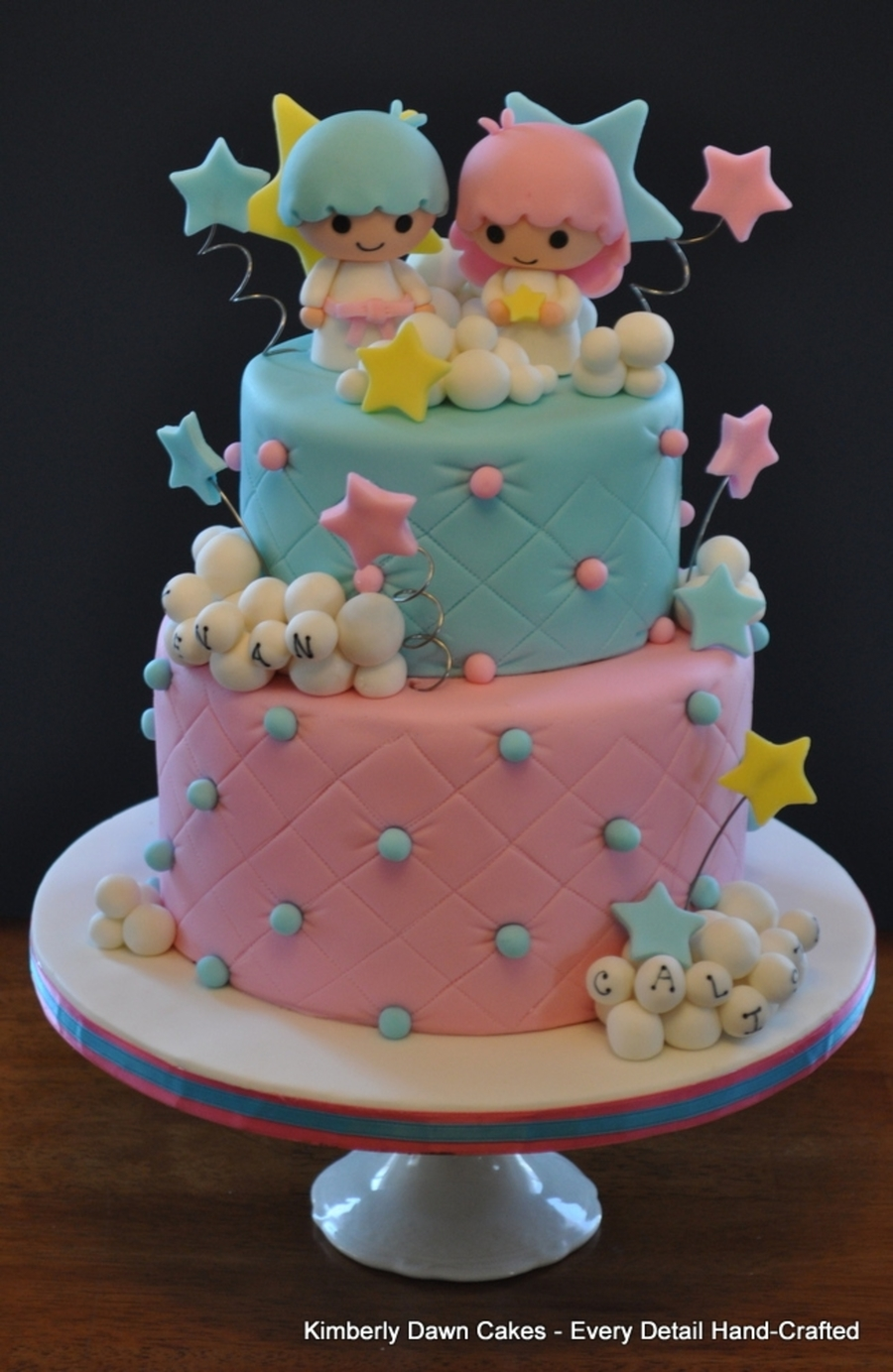 Little Twin Stars Cake on Cake Central