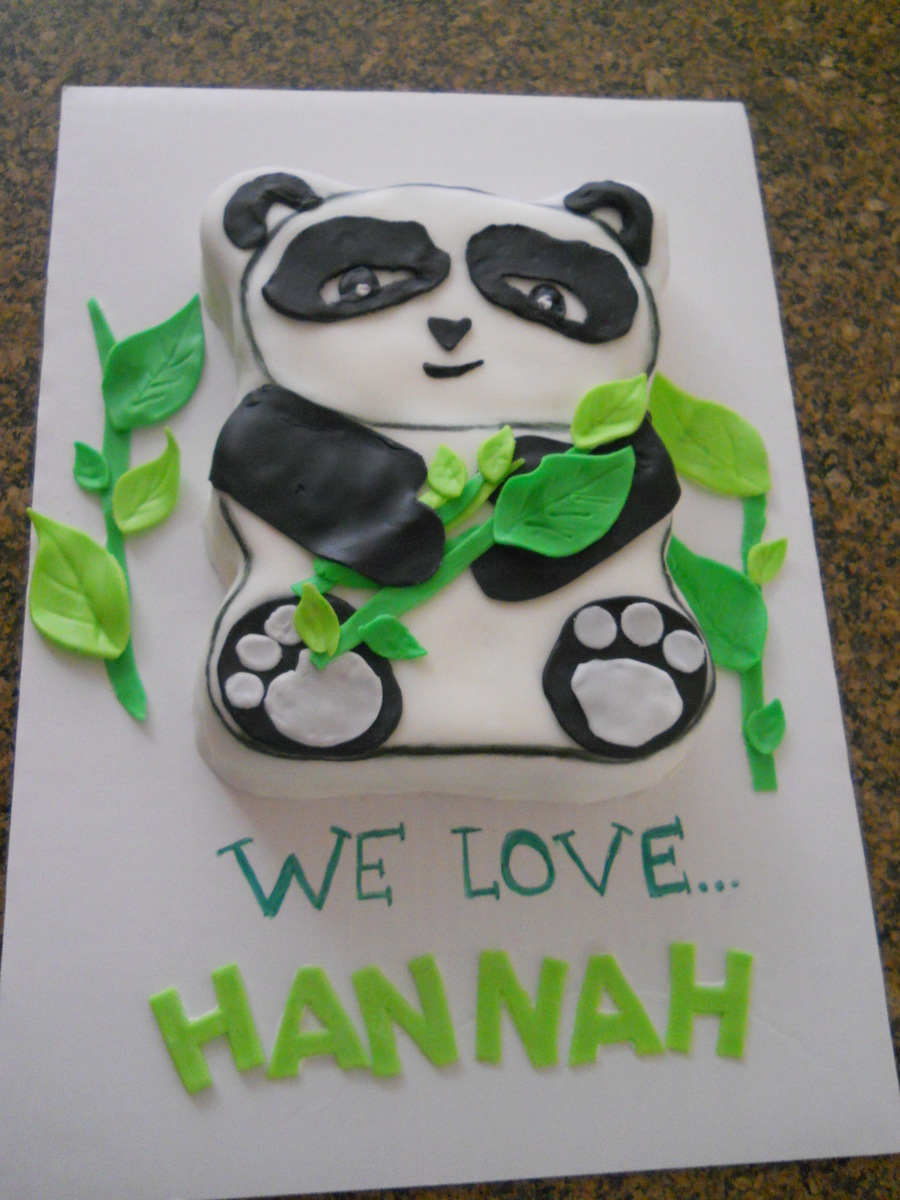 The Pandas Are Coming!! on Cake Central