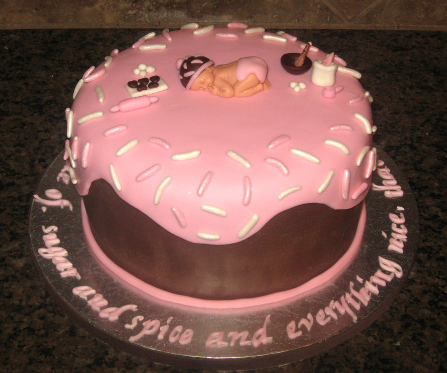Sugar And Spice Baby Shower Cakecentral