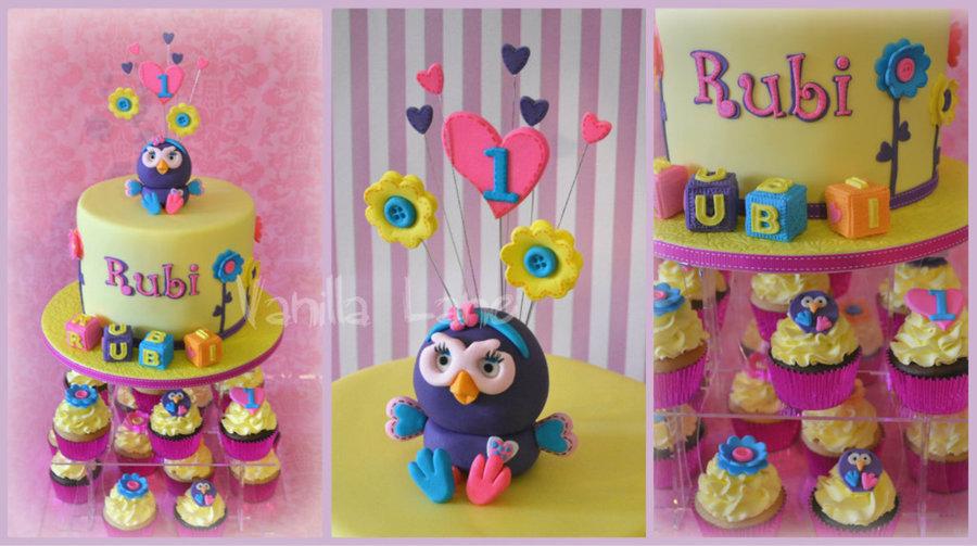 Hootabelle Cake Topper Tutorial