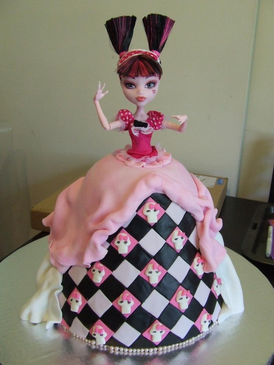 Торт монстр хай своими руками