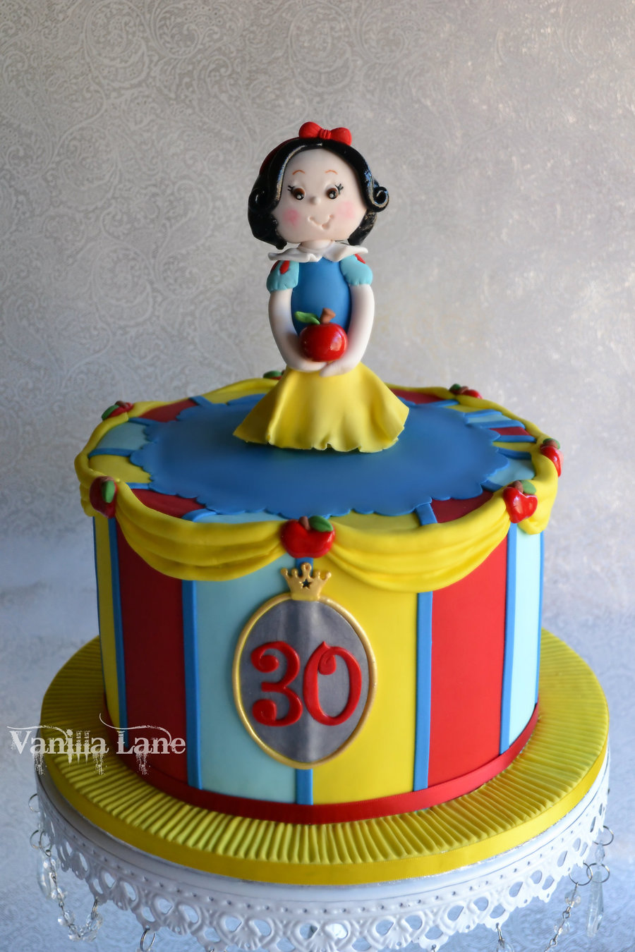 Snow White Cake For A Disney Themed 30th Birthday Cake Was