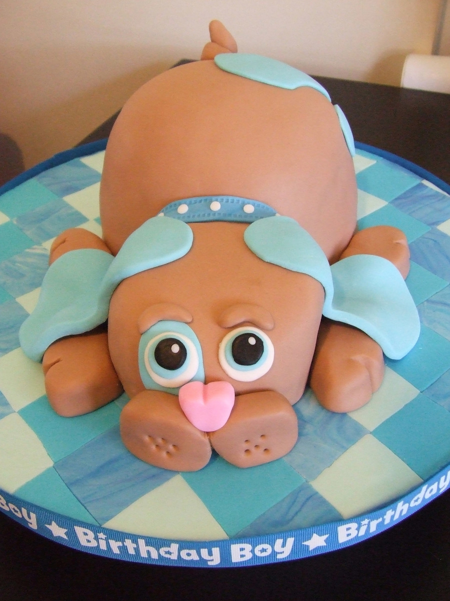 Stupendous Puppy Dog Cakecentral Com Funny Birthday Cards Online Necthendildamsfinfo