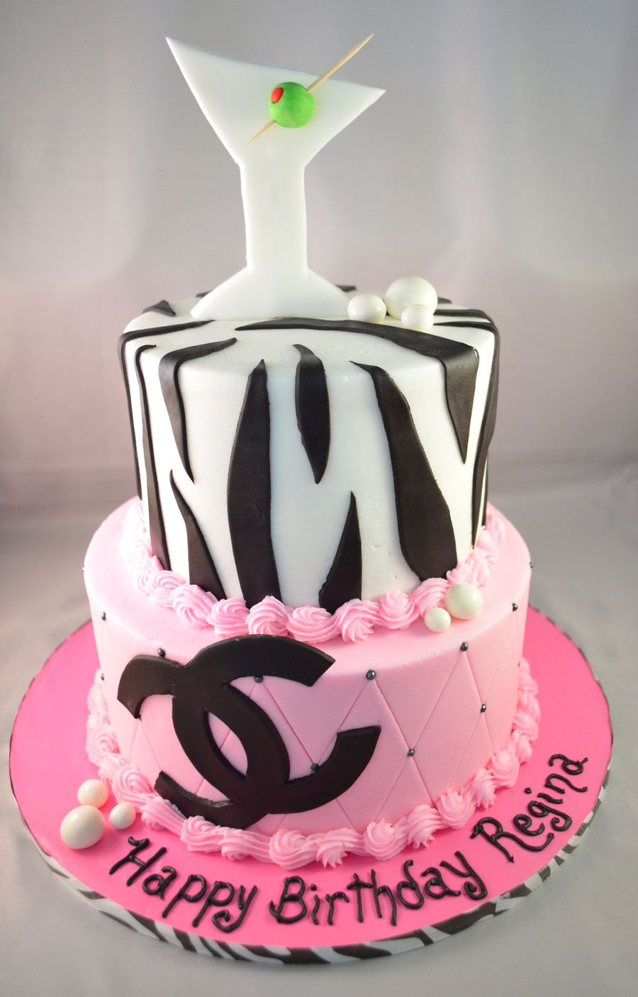 Coco Chanel  on Cake Central