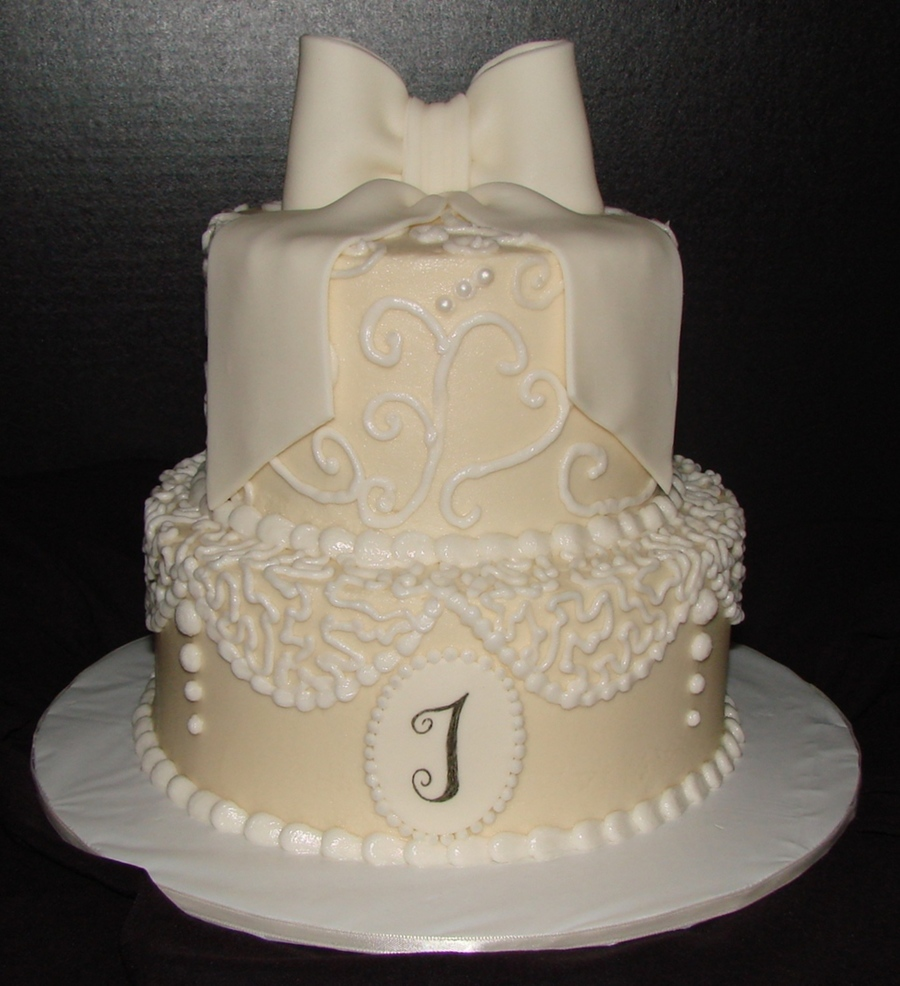 Swirls And Lace on Cake Central