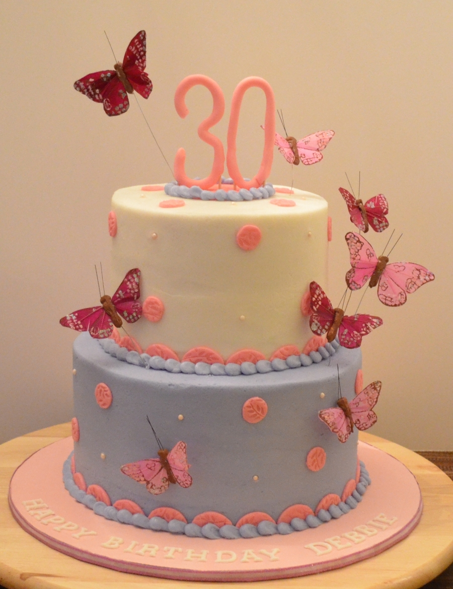 Butterflies on Cake Central