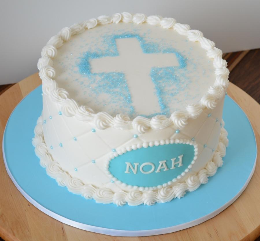 Украшения торта на крещения