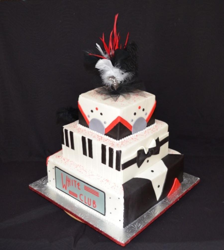 Casino Party Cakes