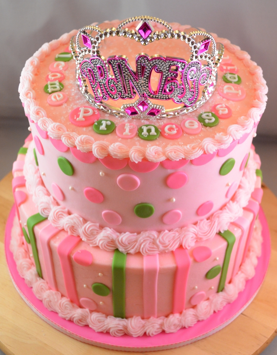 Welcome Little Princess on Cake Central