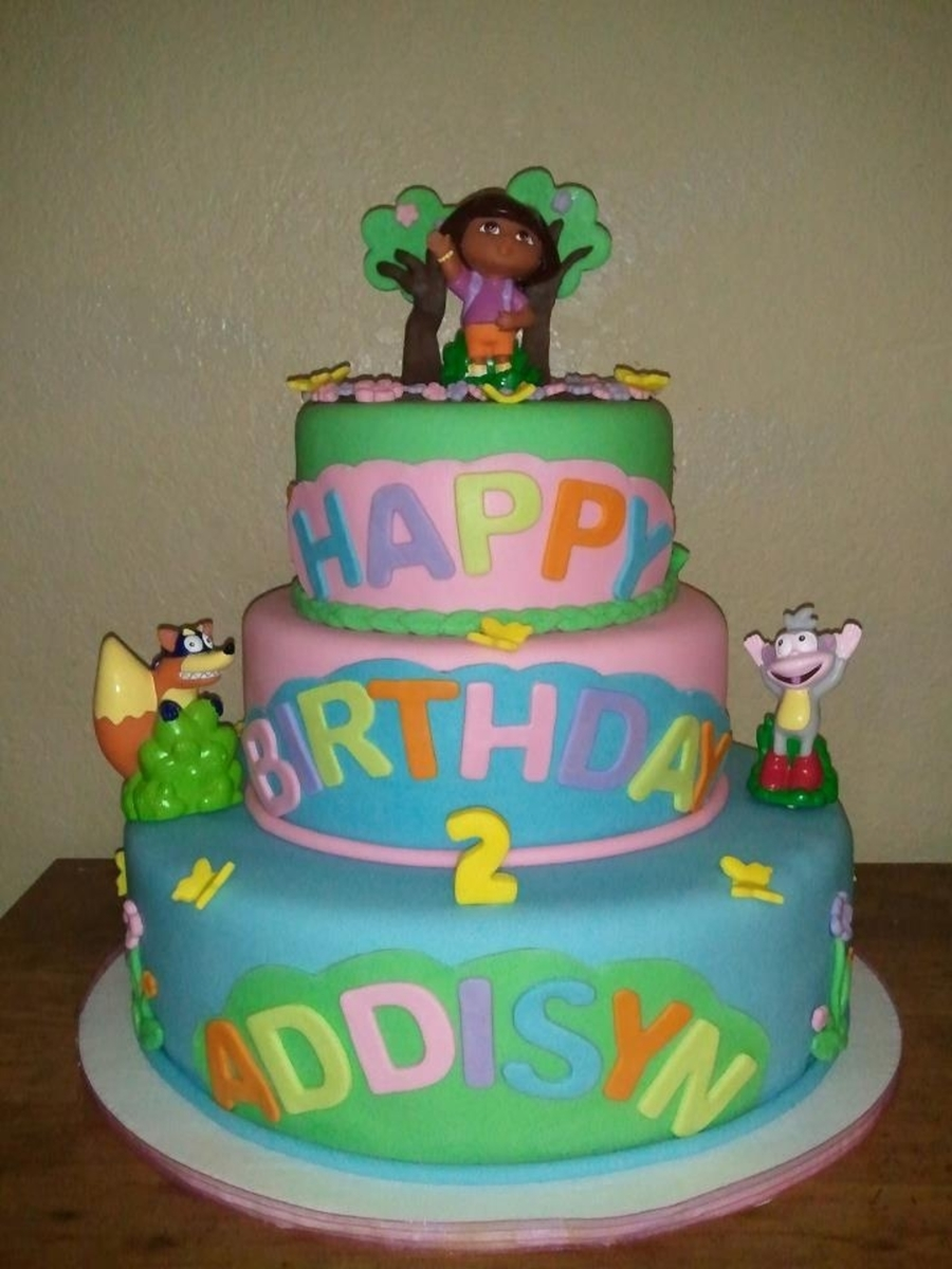 Dora And Friends Cake on Cake Central