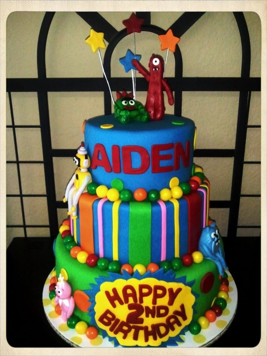 Yo Gabba Gabba!! on Cake Central
