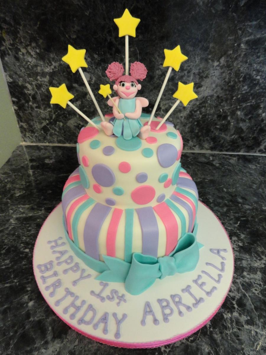Abby Cadabby Cake CakeCentralcom