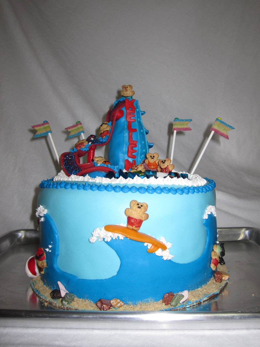 Water Fun Birthday Cake Cakecentral