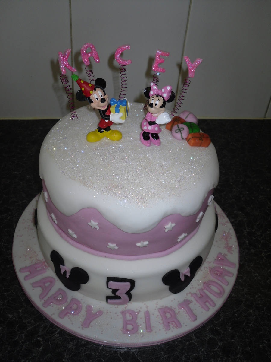 Admirable Minnie Mouse 3Rd Birthday Cakecentral Com Funny Birthday Cards Online Alyptdamsfinfo