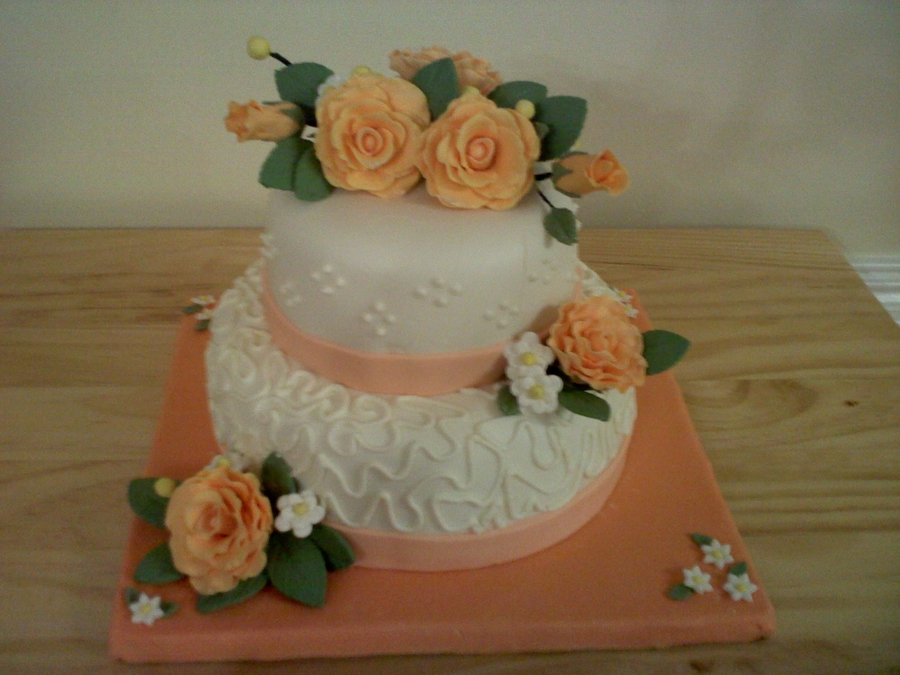 Roses For Thanksgiving on Cake Central