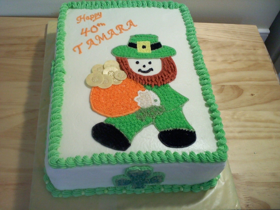 Leprechaun on Cake Central