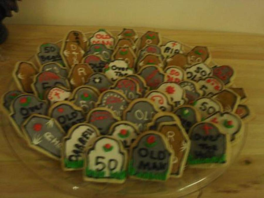 Cookies For Over The Hill Birthday on Cake Central