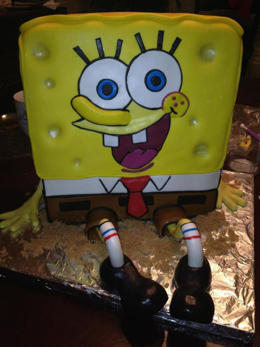 Spongebob, Yellow on Cake Central