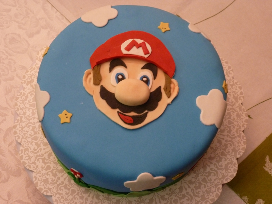 Mario Cakes Ideas Fondant