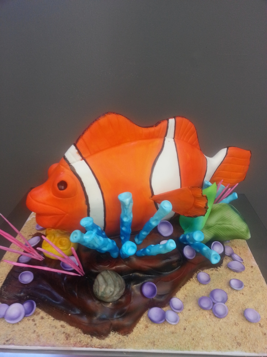 Clown Fish on Cake Central
